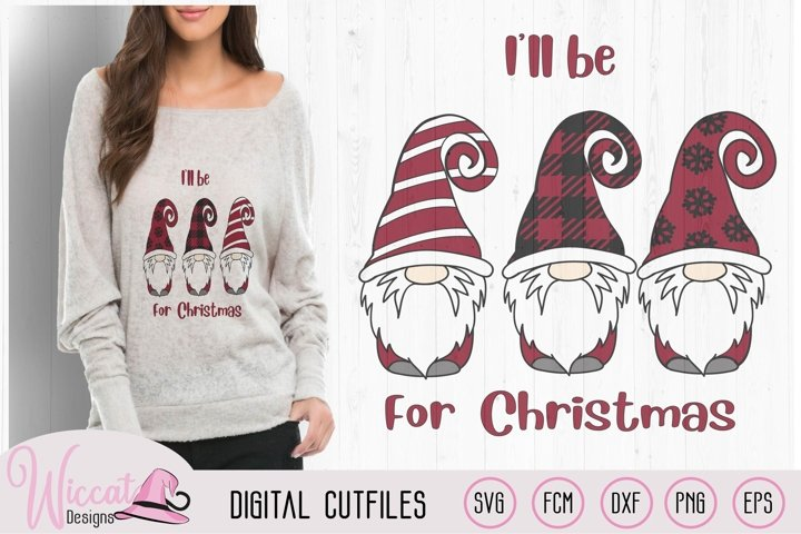 Christmas gnomes, be home for christmas quote,