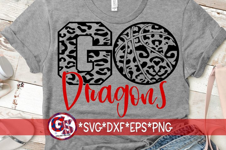 Go Dragons Basketball SVG DXF EPS PNG