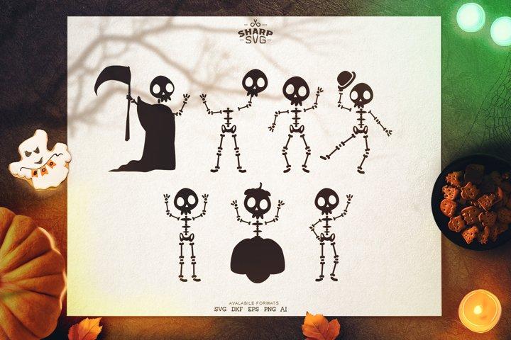 Halloween Skeletons SVG | Halloween SVG Files