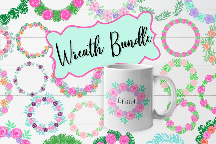 Floral Wreath Bundle