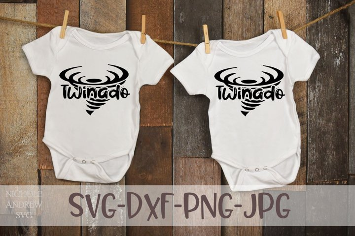 Twinado, A Twin SVG design