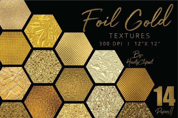 Gold foil digital papers