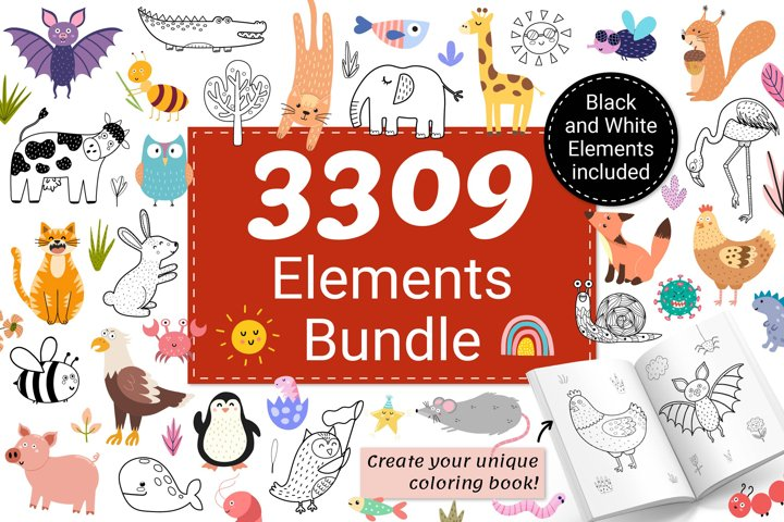 3309 in 1 Graphic Bundle