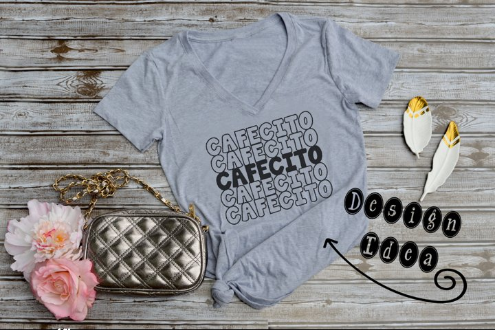 Cafecito Stacked- SVG
