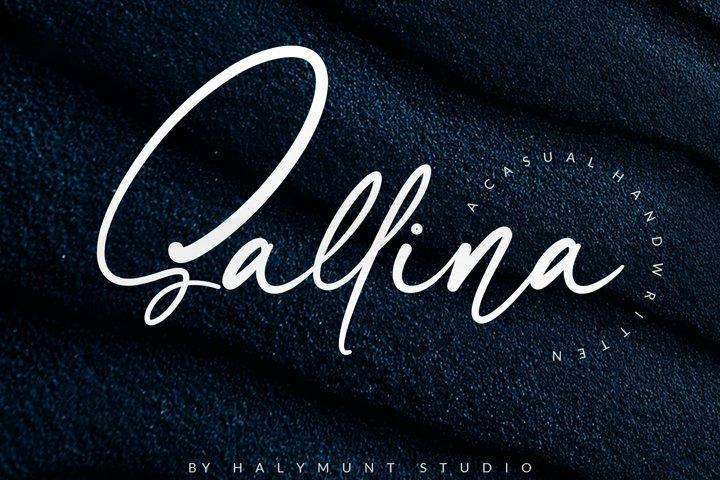 Sallina Script