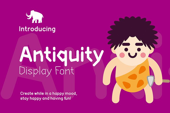 Antiquity Display Font