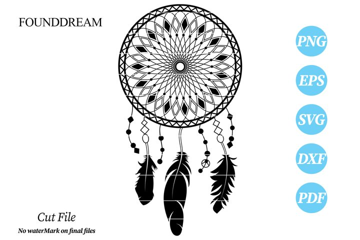 Dream Catcher svg cut file