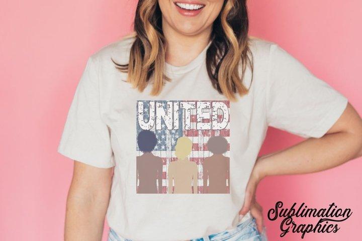 United 2 Sublimation Digital Download