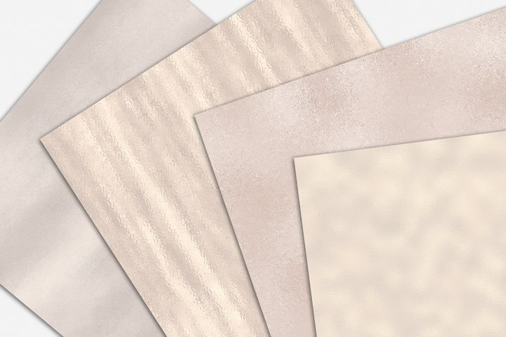 Pearl Foil and Glitter Textures - Metallic Backgrounds example 3