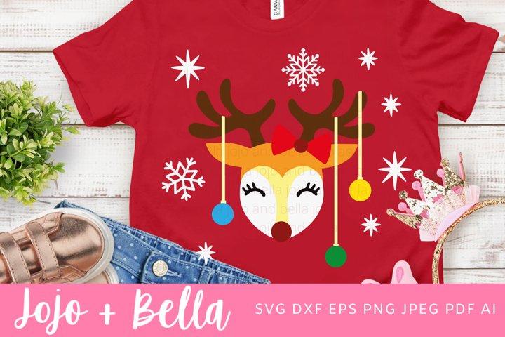 Christmas Svg | Reindeer Svg