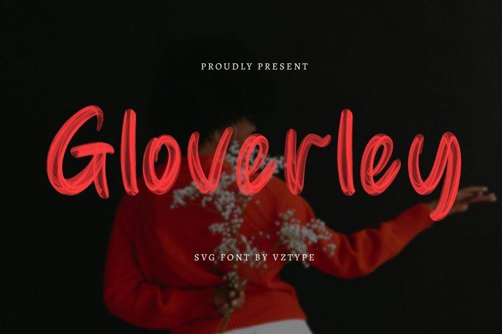 Gloverley SVG Font