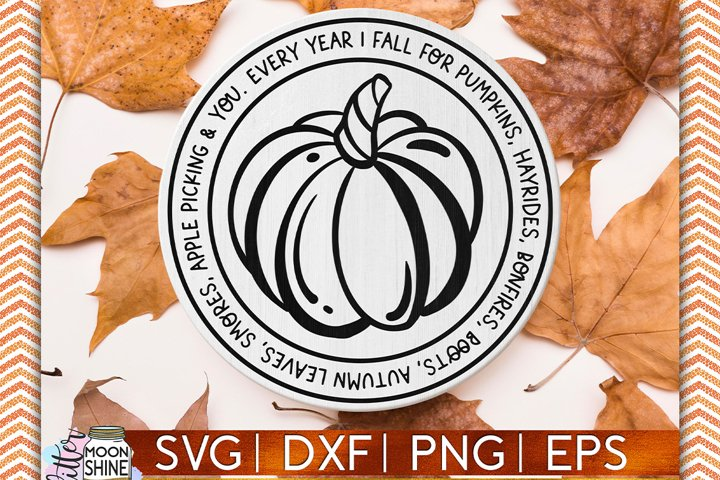 Every Year I Fall For You SVG DXF PNG EPS