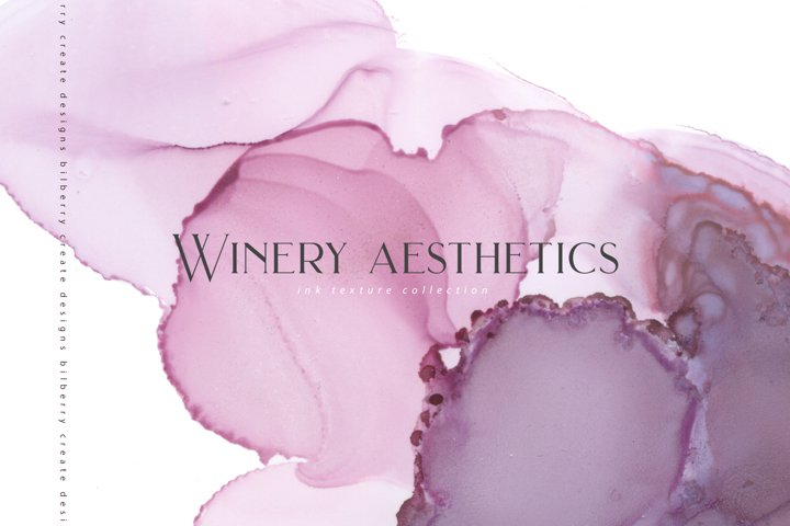 Winery aesthetics ink collection