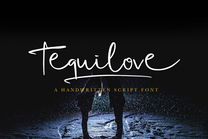 Tequilove - Free Font of The Week Font