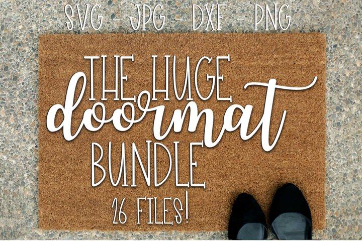 The Huge Doormat Bundle - 26 Files!