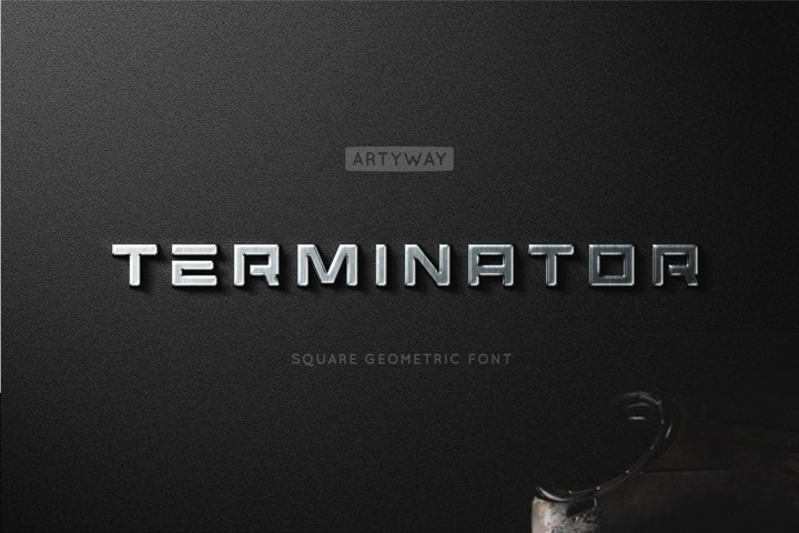 Terminator Headline Font