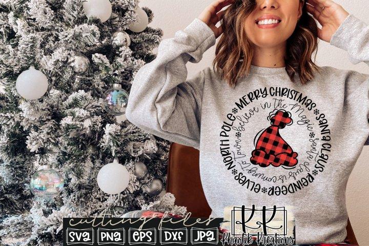 Merry Christmas Svg, Christmas Svg Designs, Santa Claus Svg
