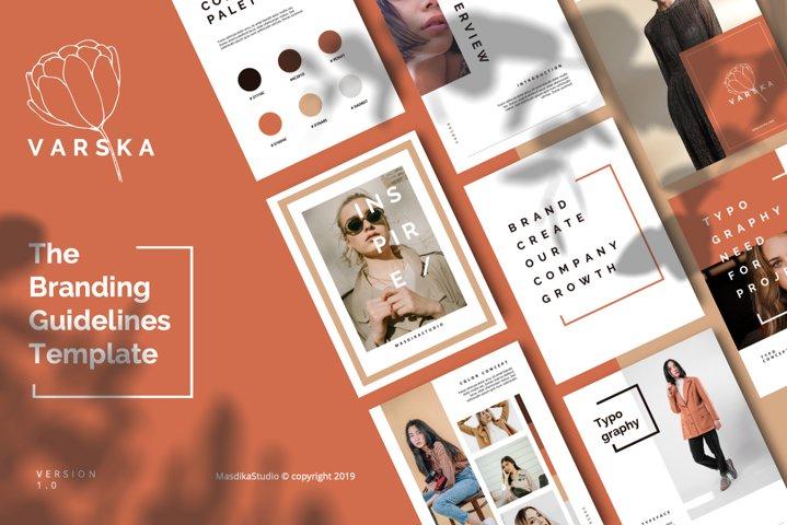 VARSKA - Powerpoint Brand Guidelines
