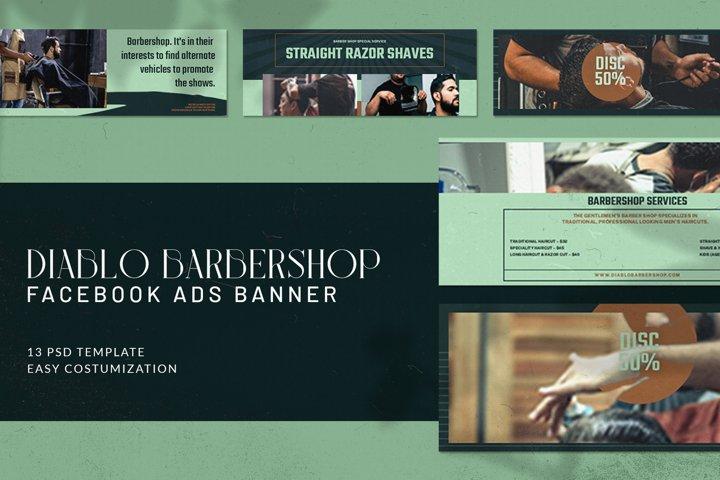 Diablo Barbershop Facebook Ads