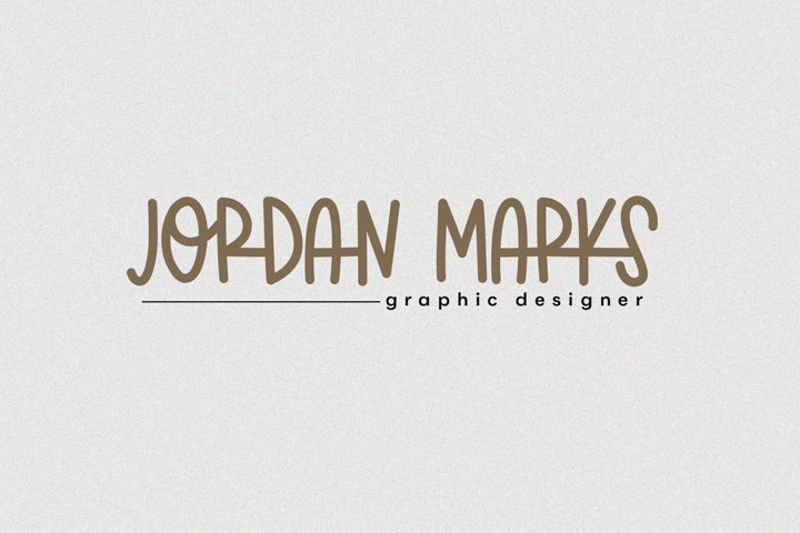 Marvelous - A Fun & Quirky Handwritten Font - Free Font of The Week Design1