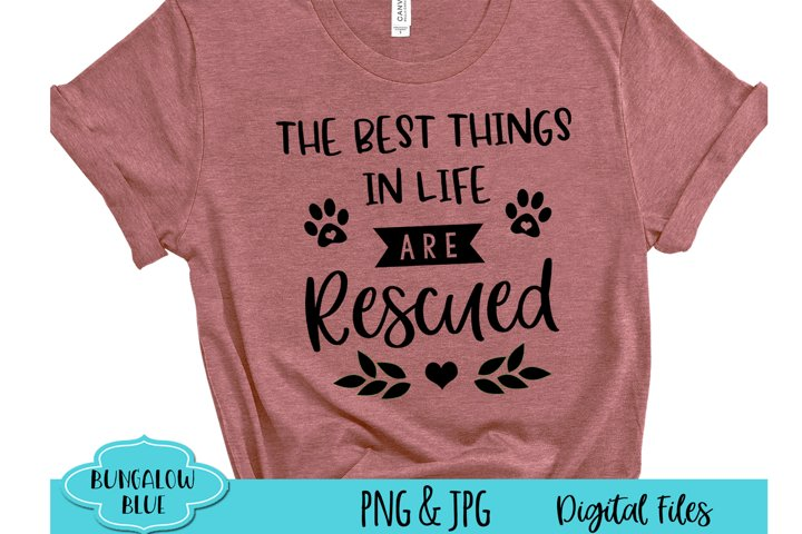 The Best Things in Life are Rescued Digital Download