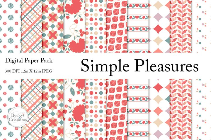 Simple Pleasures Paper Pack