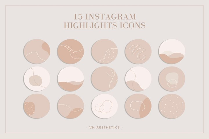 Instagram highlight, boho Icons, Abstract Icons, icons,