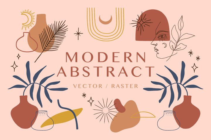 Modern Abstract Bundle