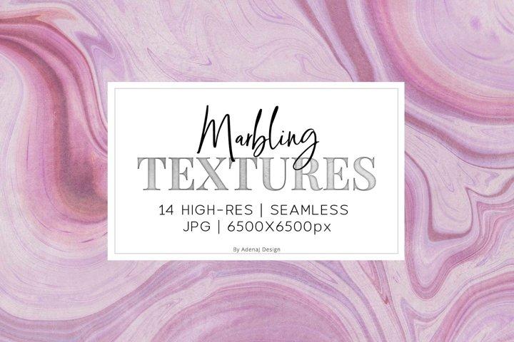 14 Pink & Purple Marbling Textures