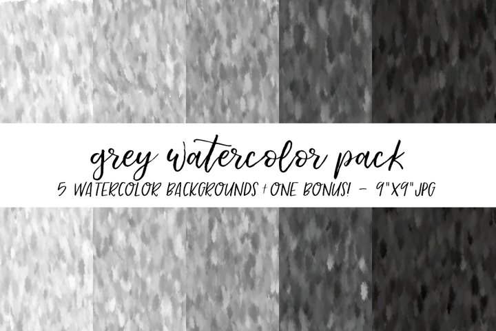 Grey Watercolor Backgrounds