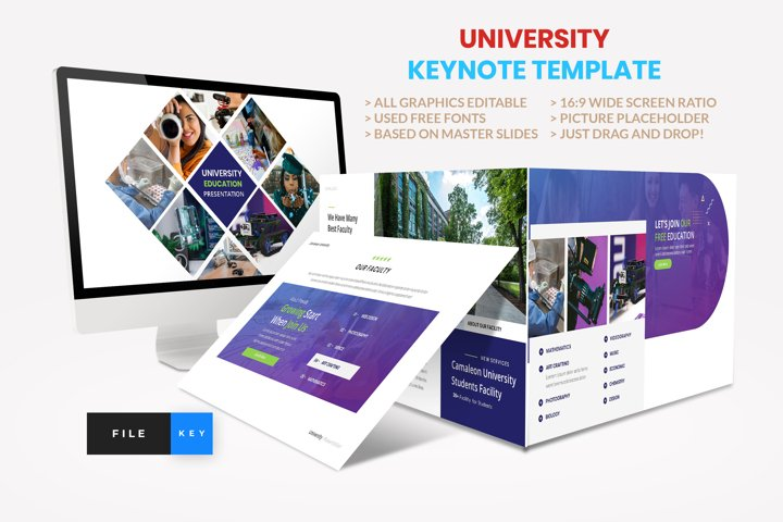 University - Education College Keynote Template