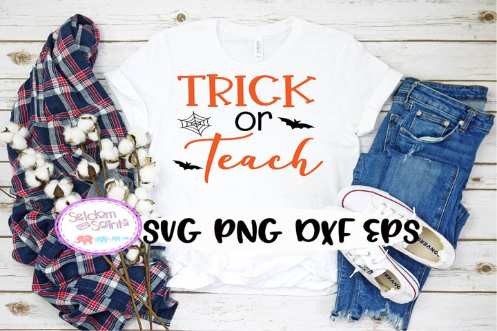 Trick or Teach SVG PNG EPS DXF