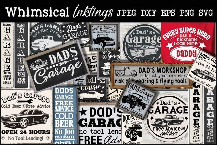 All About Dad SVG Bundle