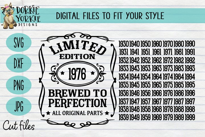 Brewed to Perfection SVG Cut File - All original parts