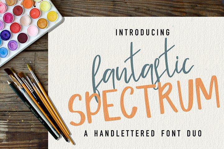 Fantastic Spectrum-Font Duo