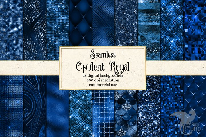 Opulent Royal Digital Paper