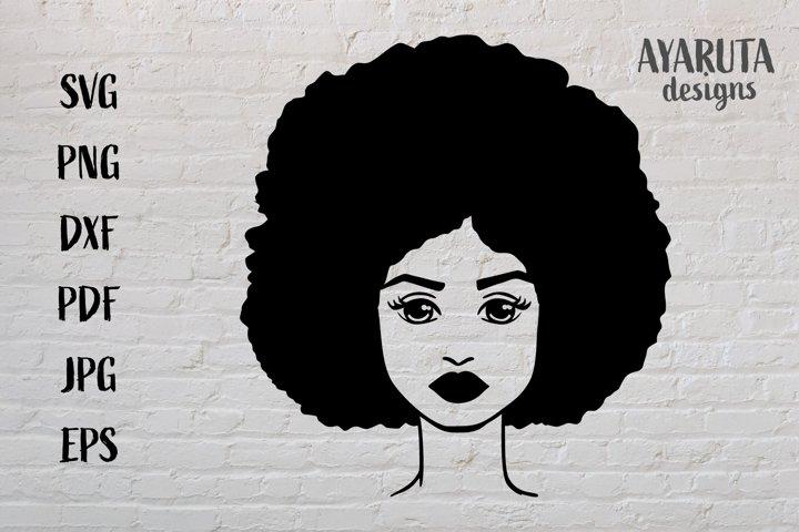 Black History African American Woman SVG, Black Girl Magic