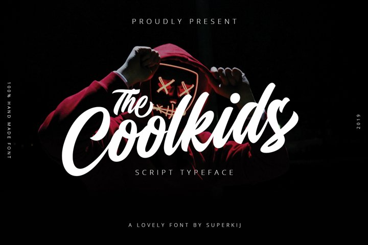 Coolkids - Script Typeface