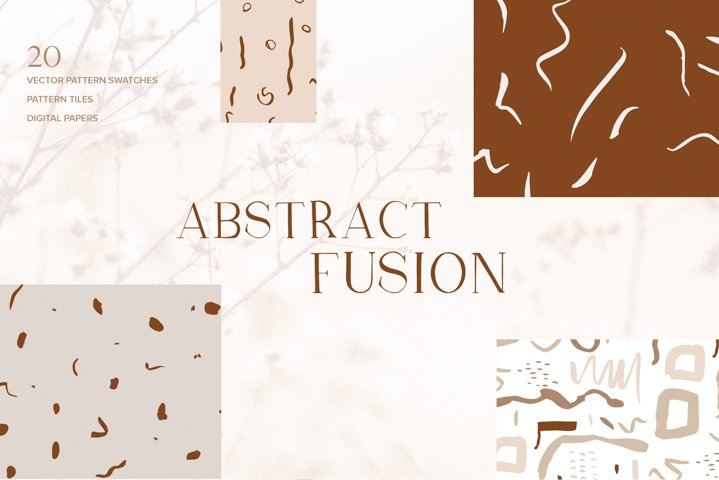 Abstract Fusion Seamless Patterns