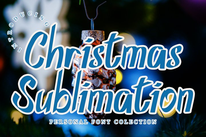 Christmas Sublimation