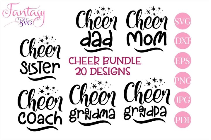 Cheer Bundle - Svg Cut Files
