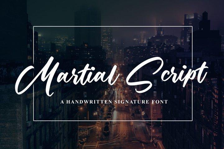 Martial Script