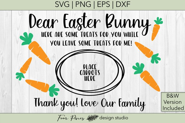 Dear Easter Bunny Love Our Family - 2 files included! V.1