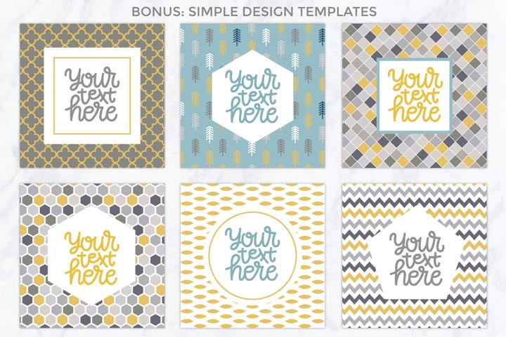 26 vector patterns Trendy Colors example 4