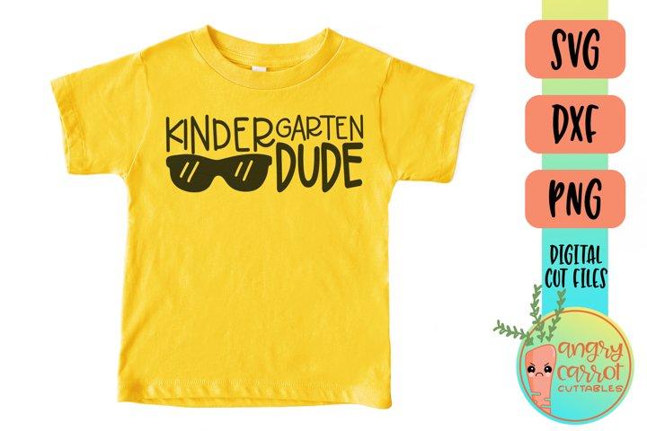 Kindergarten Dude SVG Files | School Shirt SVG