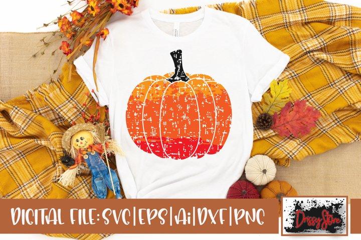 Pumpkin Grunge SVG DXF Ai EPS PNG