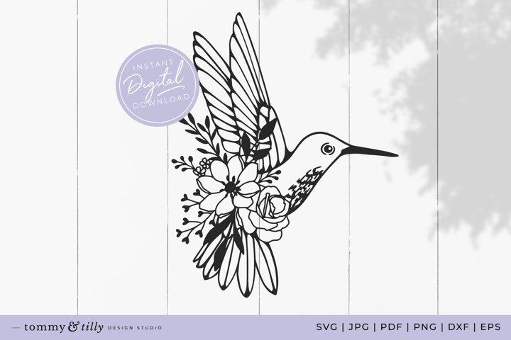 Hummingbird SVG Cut File for Cricut and Silhouette