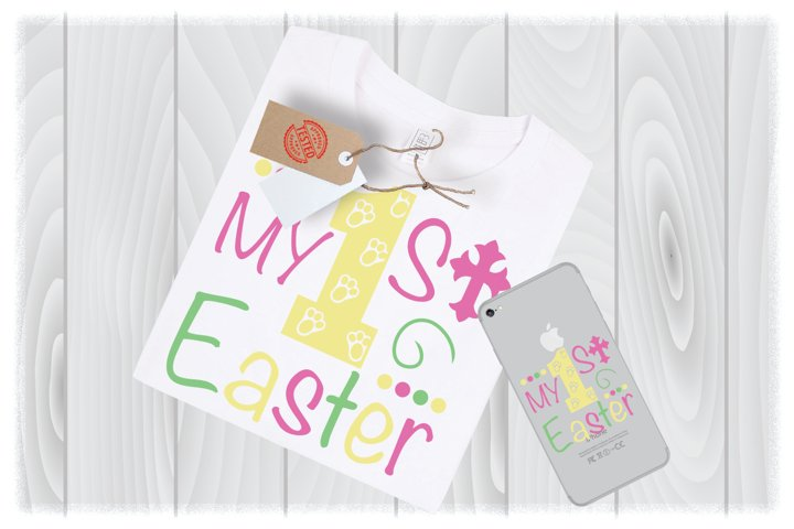 My 1st Easter SVG Files for Cricut Designs