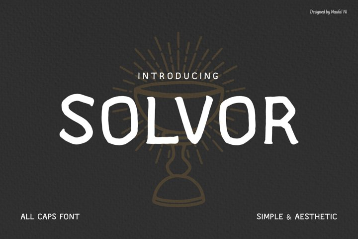 SOLVOR Font
