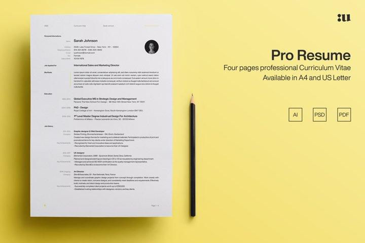 Pro Resume Template